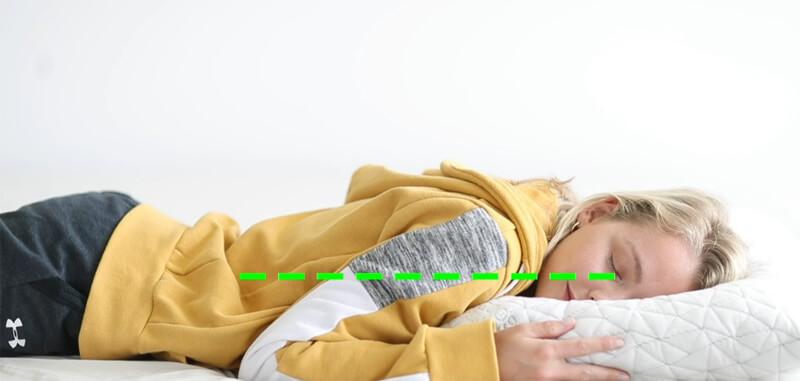 Best Stomach sleeping Memory Foam Pillow